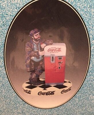 2 New Vtg Sealed EMMETT KELLY Circus Clown Coca-Cola Limited Edition Figurines