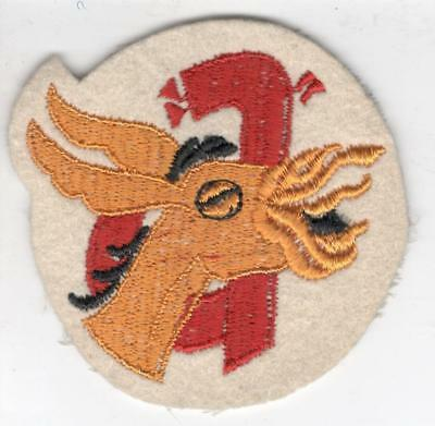 WW 2 US Army 98th Field Artillery Battalion Wool Patch Inv# Y856