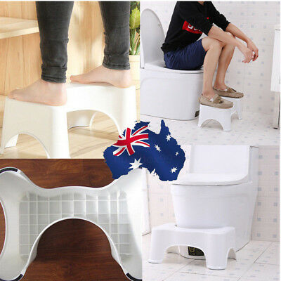 Toilet Aid  Step Foot Stool Bathroom for Potty Help Prevent Constipation