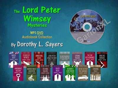The LORD PETER WIMSEY Mysteries By Dorothy L. Sayers (15 MP3 Audiobooks)