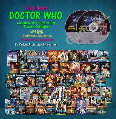 The Ultimate DOCTOR WHO 9th 10th 11th Doctor Collection (76 MP3 Audiobooks)