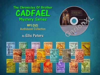 The Complete BROTHER CADFAEL Mysteries By Ellis Peters (21 MP3 Audiobooks)