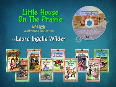 The Complete LITTLE HOUSE ON THE PRAIRIE Series Laura Ingalls (9 MP3 Audiobooks)