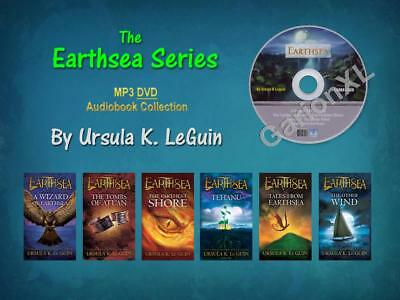 The Complete EARTHSEA CYCLE Series By Ursula K. LeGuin (6 MP3 Audiobooks)