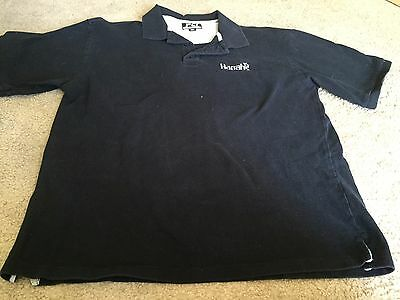 Nice men's size XL PCi black polo style shirt Harrah's Casino