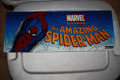 """Marvel """"the Amazing Spider-Man"""" Slot Machine Belly Glass, Very Rare"""