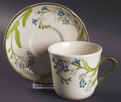 Franciscan FORGET-ME-NOT Cup & Saucer 137317