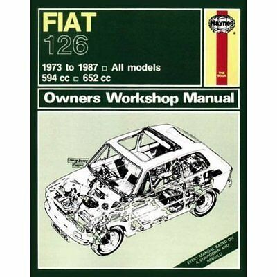 Fiat 126 Owner's Workshop Manual (Haynes Service and Re - Paperback NEW  2013-04