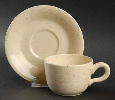Franciscan COUNTRY CRAFT ALMOND CREAM Cup & Saucer 135353