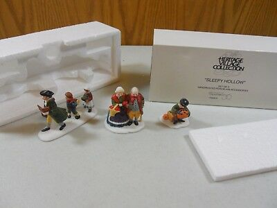 Dept 56 Heritage Accessory Sleepy Hollow Set of 3 #5956-0  In Box and Sleeve