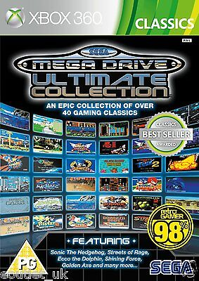 SEGA Mega Drive Ultimate Collection XBox 360 Retro Games X360 NEW