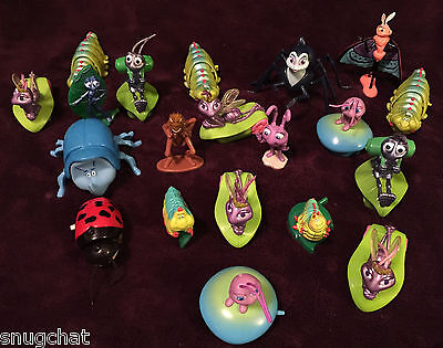 Lot of 20 McDonald's Happy Meal Toys for A Bug's Life by Disney Pixar XLNT Cdtn