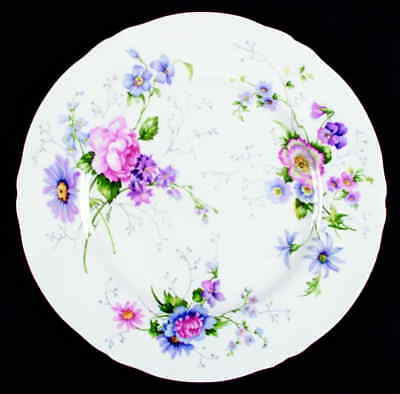 Crown Staffordshire ENGLAND'S GLORY Dinner Plate 2475931