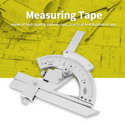 Universal Bevel Protractor 0-320° Precision Angle Measuring Finder Ruler Tools D