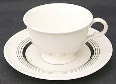 American Limoges SILVER AGE Cup & Saucer 1711839