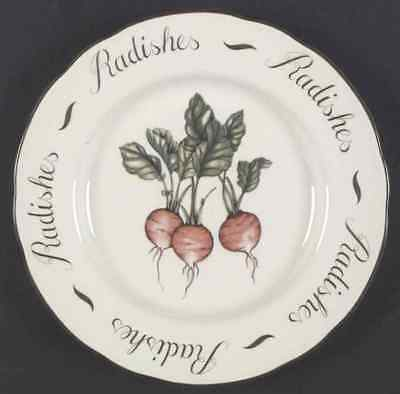 Franciscan VEGETABLE MEDLEY Radishes Accent Luncheon Plate 1285498