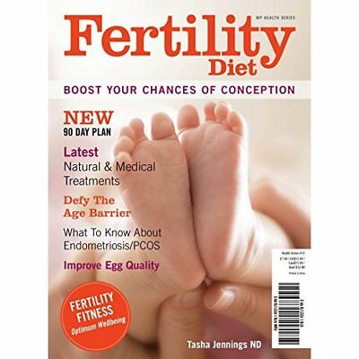 Fertility Diet: Boost Your Chances of Conception - Paperback NEW Tasha Jennings(