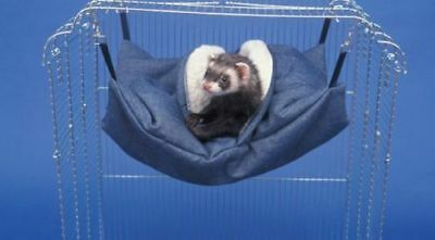 Sheppard and Greene Cozy Ferret Rat Cage Sleeping Bed Hammock Sleep Sack