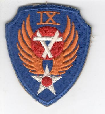 WW 2 US Army Air Force 9th Engineer Command Patch Inv# Z557