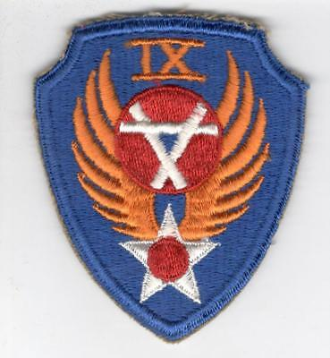 WW 2 US Army Air Force 9th Engineer Command Patch Inv# Z559