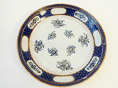 """19th century Chinese Export Plate  8"""" D"""