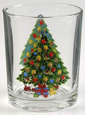 Carlton-japan CHRISTMAS Old Fashioned Glass 46255