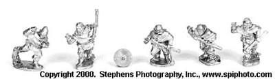 Old Glory Battles of Crecy & Poitiers 25mm Breton Bidets Pack MINT