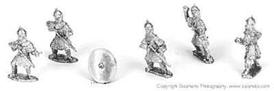 Old Glory Dark Ages Byzantines First Rank Infantry Pack MINT