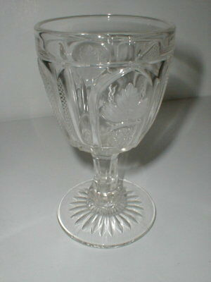 Imperial Glass MMA Magnet & Grape Clear Water Goblet/s
