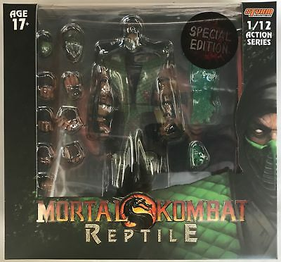 Storm Collectibles Special Edition 1:12 Reptile Mortal Kombat Action Figure NEW