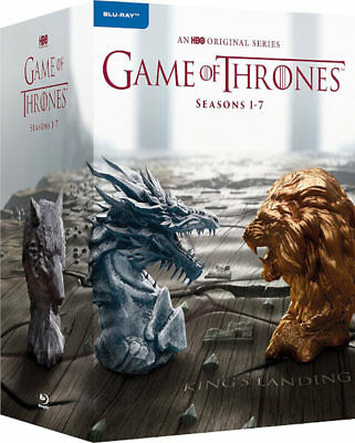 Game of Thrones Season Series 1 - 7 Blu-ray 1-7 Boxset New Region Free A,B,C!