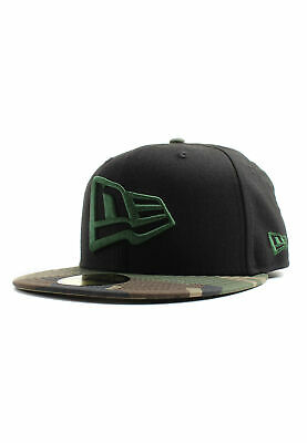 9dba405f2961d New Era 59Fifty Casquette New Drapeau Vert/Noir Camouflage
