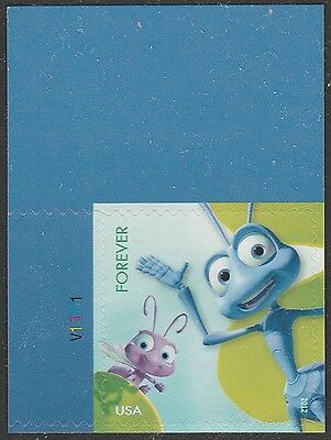 US 4677 Disney Pixar Mail a Smile A Bug's Life forever plate single UL MNH 2012