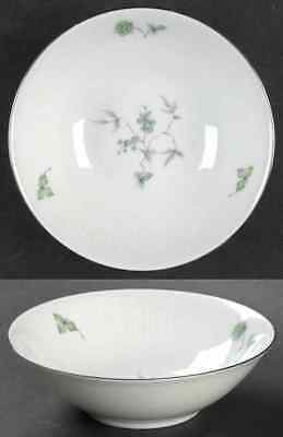 Mitterteich GREEN MING (PLATINUM TRIM) Fruit Dessert (Sauce) Bowl 3779961