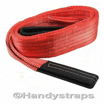4 meter x 5,000kg Duplex Lifting Sling/ Straps/ Hoist - 150mm wide