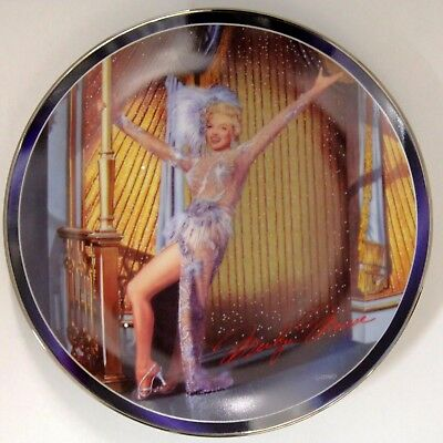 Bradford Exchange Marilyn Monroe EVERYTHING ABOUT IT  3rd Issue Collector Plate