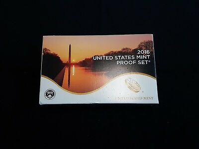 2016 U.S. CLAD 14 Coin Proof Set Complete 3 Sets. INV. 276