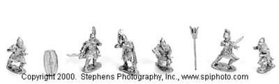 Old Glory Carthaginians 25mm Libyan Heavy Infantry Pack MINT