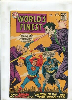 "Worlds Finest Comics #177 - ""the Duel Of The Crime-Kings!"" - (7.5) 1968"