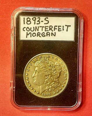 1893-S Morgan  Dollar Counterfeit Fake Curio Collector Coin Only Not For Resale