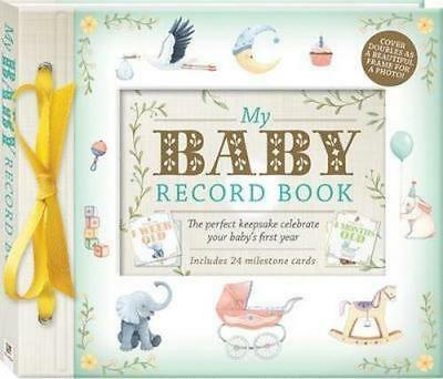NEW My Baby Record Book Deluxe Record Book Free Shipping