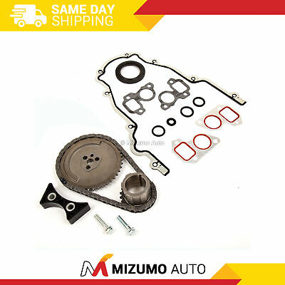 Timing Chain Kit Cover Gasket Fit 03-07 Cadillac Buick Chevrolet GMC 4.8 5.3 6.0