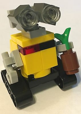 Lego Moc Kit Diy Custom Wall-E Robot Minifig New Parts Inst Minifigure Disney