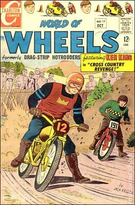 World of Wheels #17 1967 VG Stock Image Low Grade