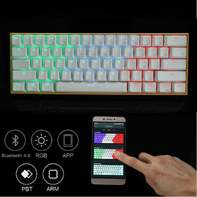 Gaming Gamer  Keyboard Anne PRO Brown Switch RGB + Wireless Bluetooth AU