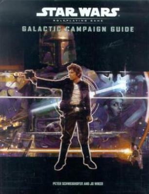 WOTC Star Wars d20 Galactic Campaign Guide HC EX