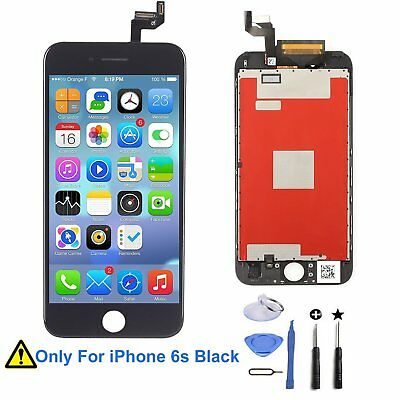 iPhone 6S Screen Replacement Retina LCD Display Digitizer Frame 3D Touch (Black)