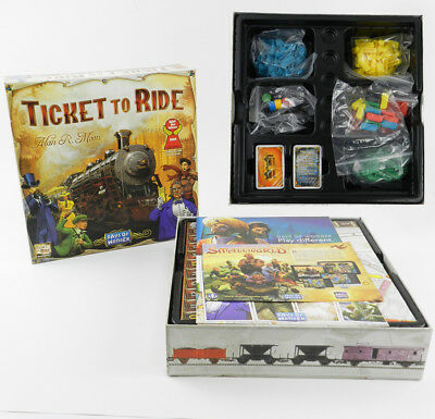 New TICKET TO RIDE Origin Edition Board Party Game Day of Wonder Train Adventure