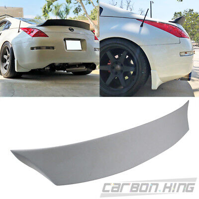 Painted Color FOR Nissan 350Z Z33 Fairlady Coupe V Rear Trunk Spoiler 08