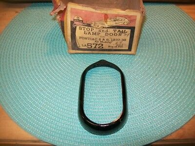 1937 1938 Pontiac 6 & 8 Cyl NORS STOP & TAIL LAMP BEZEL